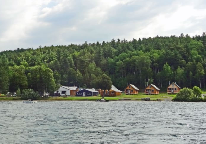Emerald Lake Camp River Valley Fishing Hunting Log Cabins